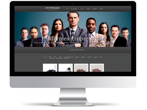65a115565ef3c Desenvolvemos seu website para divulgação dos produtos, promoções e  campanhas promovidas pelas Lojas, além de dicas e sugestões de moda.